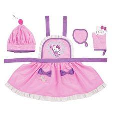 Hello #kitty play kitchen set mini #electronic chef preschool xmas ...