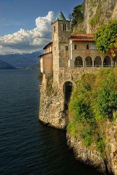 Seaside, Lombardy, Italy. Monastero di s.Caterina.  ASPEN CREEK TRAVEL - karen@aspencreektravel.com