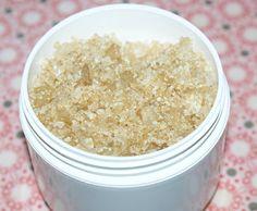DIY Lavender and Vanilla Scented Bath Salts Recipe - All Natural Bath Salt Recipe