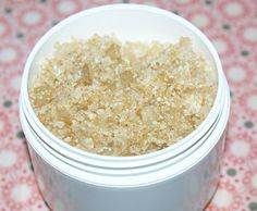DIY Lavender and Vanilla Scented Bath Salts Recipe - All Natural Bath Salt Recipe
