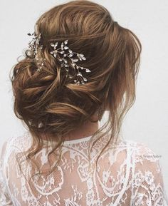Featured Hairstyle: Ulyana Aster http://www.ulyanaaster.com; Wedding hairstyle idea.