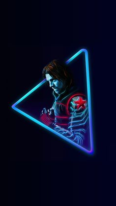 Winter Soldier - Neon mode.