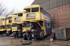 Tow Truck, Trucks, Abandoned Cars, Abandoned Vehicles, Triumph Motor, Routemaster, Rust In Peace, Double Decker Bus, Rusty Cars