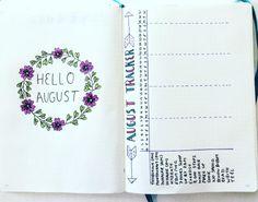 Image result for august bullet journal
