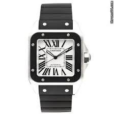 c575a62a276b cartier santos 100 rubber strap Gucci Watches For Men