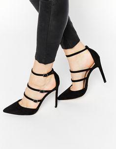 ASOS - PAIGE - Chaussures pointues à talons hauts - Noir