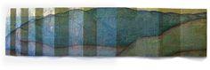 Where Rivers Begin 6 Wall Sculpture by Artist Priscilla Robinson
