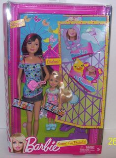 Barbie Sisters' Fun Photos Skipper Chelsea Dolls New Quick SHIP | eBay