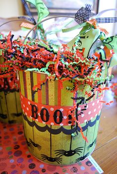 Create a fun Halloween themed College Care Package