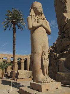 Statue of Ramses, Egypt