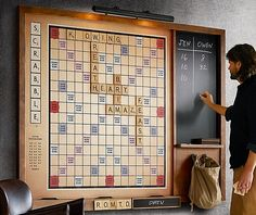 Wall Scrabble Turns The Tabletop Classic Into A Party Game Everyone Can Enjoy