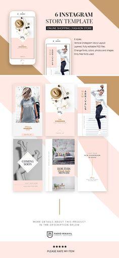 Website Design Strategies To Help You Succeed In Your Business Venture Instagram Design, Instagram Feed, Instagram Posts, Instagram Story Template, Instagram Story Ideas, Social Media Template, Social Media Design, Photo Shape, Instagram Banner