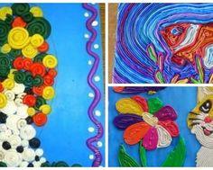 Пластилиновые жгутики - детское творчество