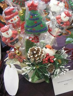 Christmas Premium Chocolate  Lollipop Gift by CraftsNamesandThings #CCfrnds