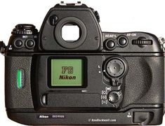 Nikon F6 Back