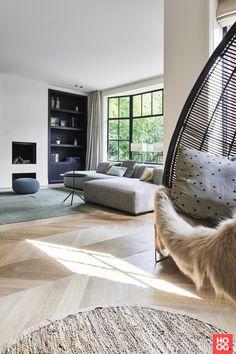 52 Ideas Design Interior Salon Black White For 2019 Home Interior, Living Room Interior, Home Living Room, Living Room Designs, Interior Architecture, Living Spaces, Interior Design, Small Living, Living Room Inspiration