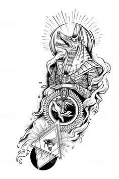 Hals Tattoo Mann, Tattoo Hals, Tribal Arm Tattoos, Upper Arm Tattoos, Geometric Tattoos, Owl Tattoo Drawings, Tattoo Sketches, Unique Tattoo Designs, Unique Tattoos