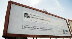 Racist online comments posted on local billboards I Springwise