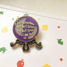 Animal Crossing New Leaf hard enamel pin