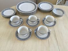 Vintage Noritake Fine China Ivory China by LalasCollections
