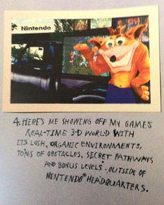 Cuando el primer juego de Crash salió el mercadeo era tan agresivo que se iban a la misma Nintendo a burlarse de la Gran N. Solo el tiempo demostró quien es quien ahora #crashbandicoot #nintendo #vintagames #psx