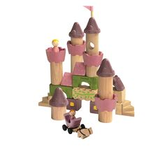 Amazon.com: Plan Toys Fairy Tale Blocks: Toys & Games