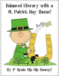 St. Patricks Day Crafts and Activities product from First-Grade-Hip-Hip-Hoora on TeachersNotebook.com