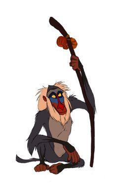 Disney Club Collab- Rafiki by Atarial on DeviantArt Lion King Baboon, Rafiki Lion King, Lion King 2, King Simba, Disney Lion King, Baby Disney Characters, Disney Movies, Arte Disney, Disney Art