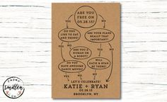 Clever wedding invitations as seen on @offbeatbride #wedding #invitation