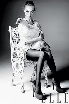Amanda Seyfried | Amanda In Wonderland | Elle by Alexei Hay, April 2011 #fashion #photography