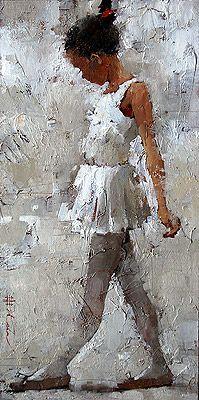 """La petite danseuse"" (The Little Dancer) by Andre Kohn Art Texture, Illustration Art, Illustrations, African American Art, Russian American, Classical Art, Black Art, Figurative Art, Painting & Drawing"