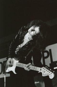 & Ritchie Blackmore . Deep Purple