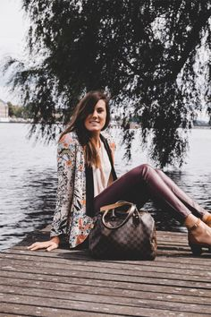 Outfit: Dusty pink & Maroon | The Pastel Project