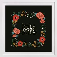 Home Sweet Home by Melissa Kelman for Minted