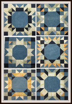 Sew Sweet Simplicity Free BOM Collage! http://jacquelynnesteves.com/sewing-quilting/sew-sweet-simplicity-free-block-of-the-month/