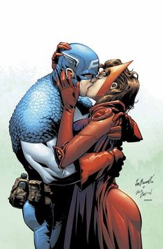 Captain America & Scarlet Witch