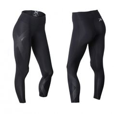 Kjøp Mid Rise Compression Tights hos X-life. Leather Pants, Tights, Black Jeans, Health Fitness, Trousers, Workout, Life, Training, Fashion