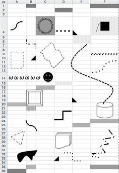 Excel, 2014 Graphic Design Brochure, Graphic Design Print, Web Design, Internet Art, Portfolio Layout, Retro Futuristic, Book Design Layout, Cool Posters, Editorial Design
