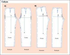 moldes de calça pantalona como fazer