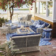 Shop Luxury Wicker Patio Furniture From Frontgate To Outfit Your Outdoor  Space. Choose From A Variety Of All  Weather Outdoor Wicker Furniture.