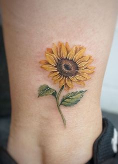 8c4e04a04 Celebrate the Beauty of Nature with these Inspirational Sunflower Tattoos.  Sunflower Tattoo SmallSunflower TattoosSunflower ArtForearm Cover Up ...