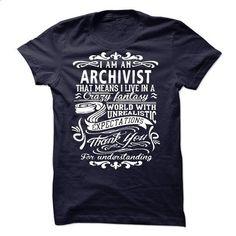 I Am An Archivist - #bachelorette shirt #funny sweater. SIMILAR ITEMS => https://www.sunfrog.com/LifeStyle/I-Am-An-Archivist-40327124-Guys.html?68278