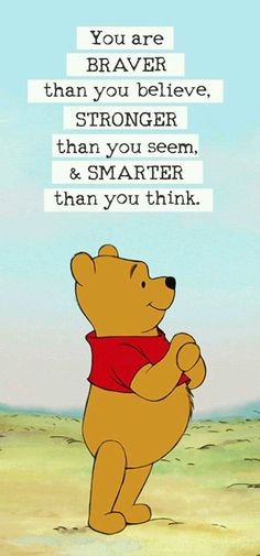 Very motivated Pooh :-)