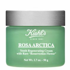 #SephoraColorWash  kiehl's - rosa artica youth regenerating cream  love this stuff & super creamy (almost like cold cream but not as messy)