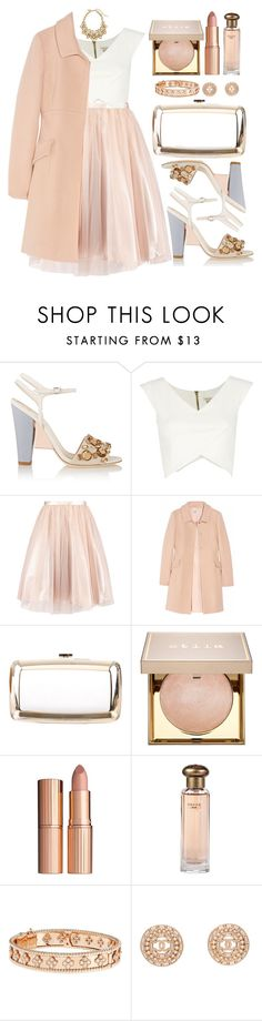 """Untitled #4349"" by natalyasidunova ❤ liked on Polyvore featuring Fendi, River Island, Philosophy di Alberta Ferretti, Roger Vivier, Stila, Charlotte Tilbury, Van Cleef & Arpels, Chanel and Oscar de la Renta"