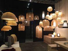 Ay illuminate / designs Nelson Sepulveda and Ay Lin Heinen at Maison&Objet Paris