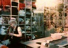 DEBBIE JUVENILE inside SEDITIONARIES circa 1977 VIVIENNE WESTWOOD 430 KING'S ROAD, LONDON www.SEDITIONARIES.com .