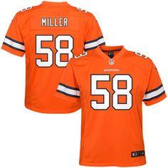 5a9e7977f Von Miller Denver Broncos Nike Color Rush Player Pride Name   Number ...