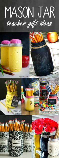 Apple mason jar teacher gift. Teacher gift ideas with mason jars. Homemade teacher gift ideas. End of school year gift ideas. Mason jar craft gift ideas.