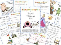 Awesome resource for teaching Fairy tales, Folktales and Fables!  It comes with lesson plans, charts for viewing on a smart board integrated into the lesson plans, printable checklists for students to evaluate the genres, reading comp. sheets that go with various books in each genre, and so much more.  This is all you'll need to teach these 3 genres! $8.50  www.3rdgradegrapevine.blogspot.com